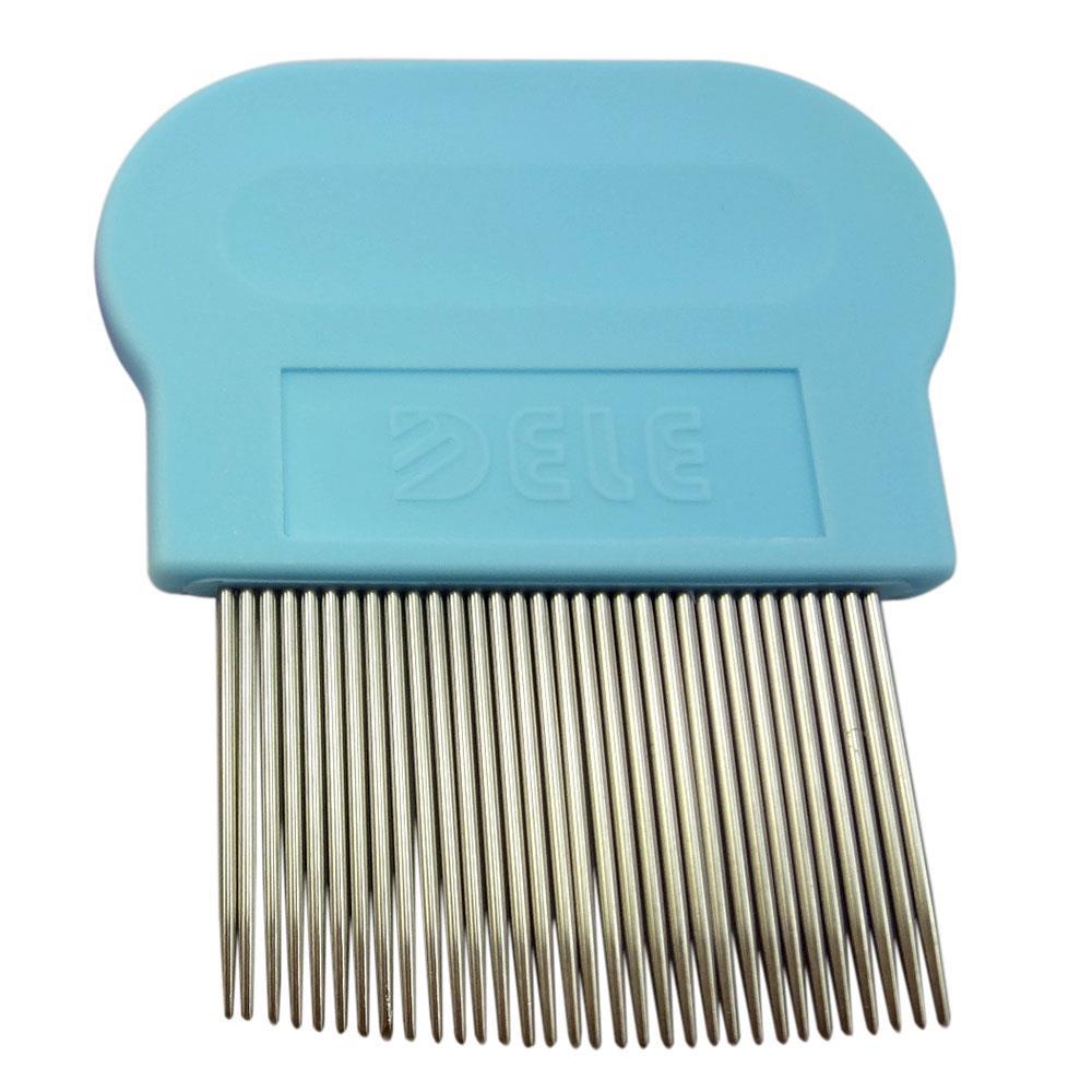 Flea Comb for Cats Kittens - Blue
