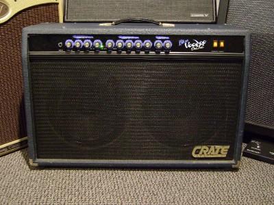crate blue voodoo bv6212 60 watt 2x12 guitar amp combo ebay. Black Bedroom Furniture Sets. Home Design Ideas