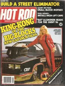 Bob Johnson Chevy >> May 1983 Hot Rod Linda Vaughn Warren Johnson Hurst Olds   eBay