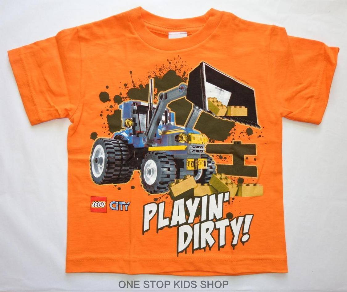 Lego City Boys 2t 3t 4t 4 5 6 7 Tee Shirt Top Police