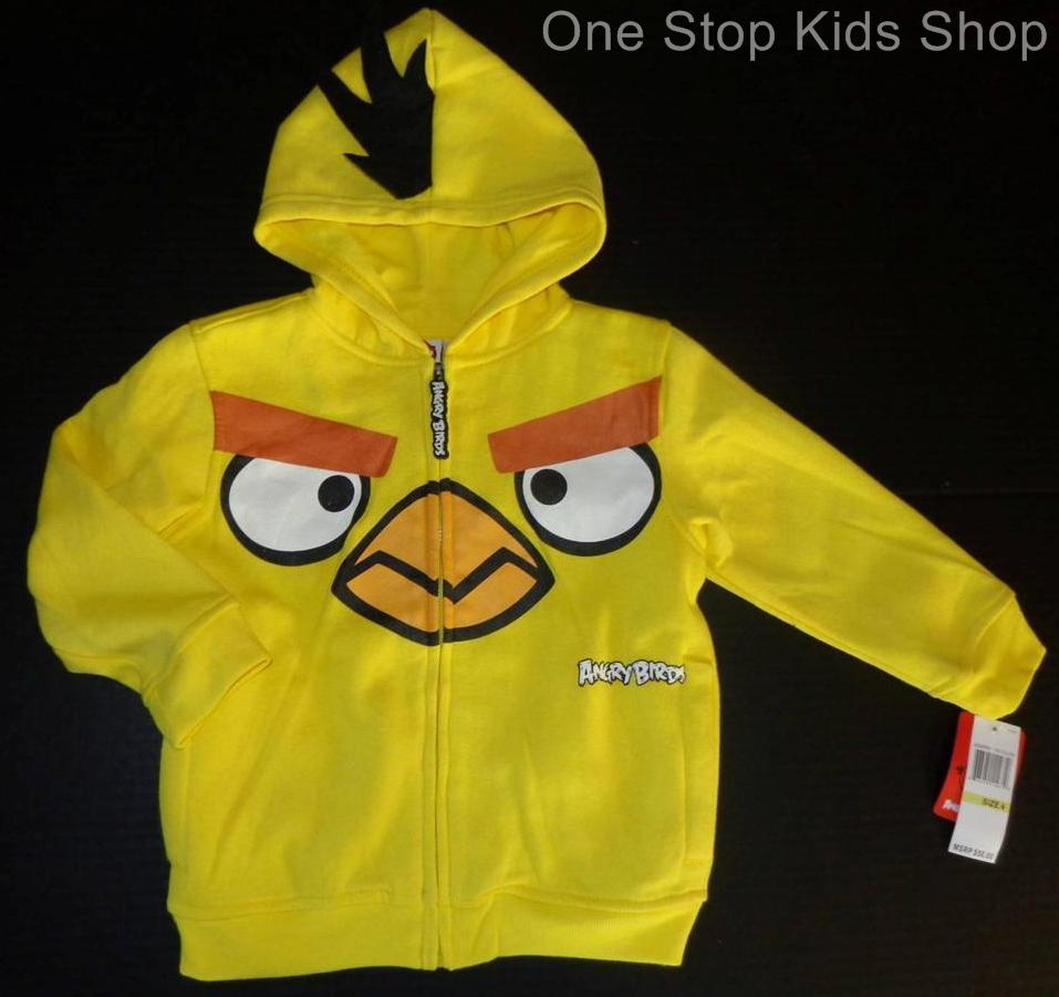 Angry birds hoodie