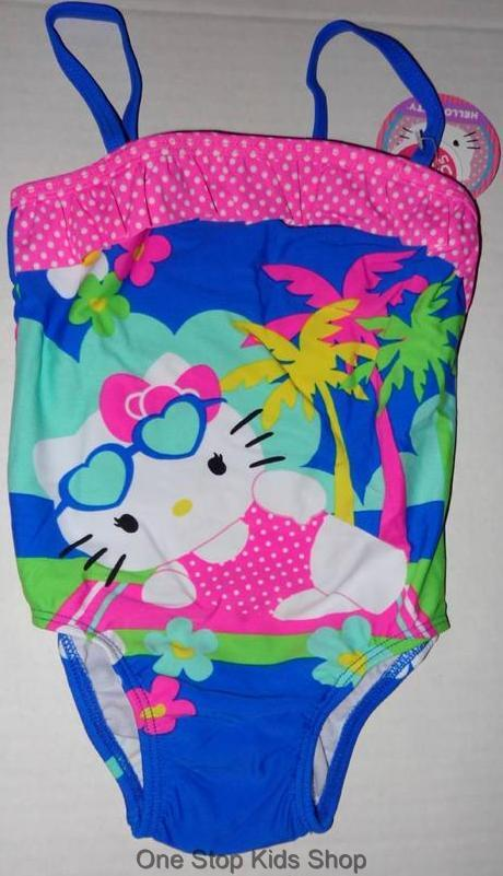 Hello Kitty Adult Bathing Suit 38