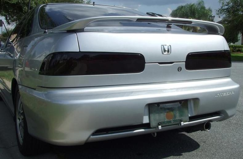 ACURA INTEGRA DR SMOKE TAIL LIGHT PRECUT TINT COVER SMOKED - 1999 acura integra tail lights