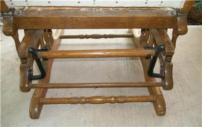 Antique Rocking Chair Recliner Glider For Restoration Turn