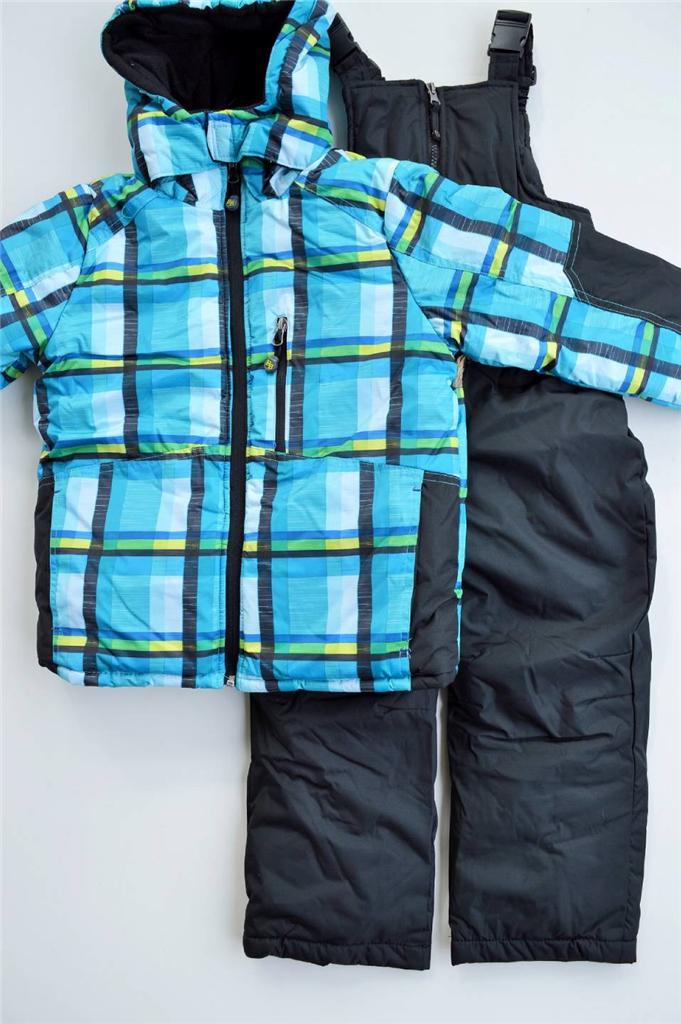 nwt rugged bear 2 piece boys 4 5 6 7 ski bib snowsuit 120. Black Bedroom Furniture Sets. Home Design Ideas