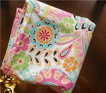 Pottery Barn Teen Paisley Pop Duvet Pillow Case Twin Ebay