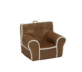 pottery barn kids natural suede anywhere chair cover jonah wyatt owen ebay. Black Bedroom Furniture Sets. Home Design Ideas