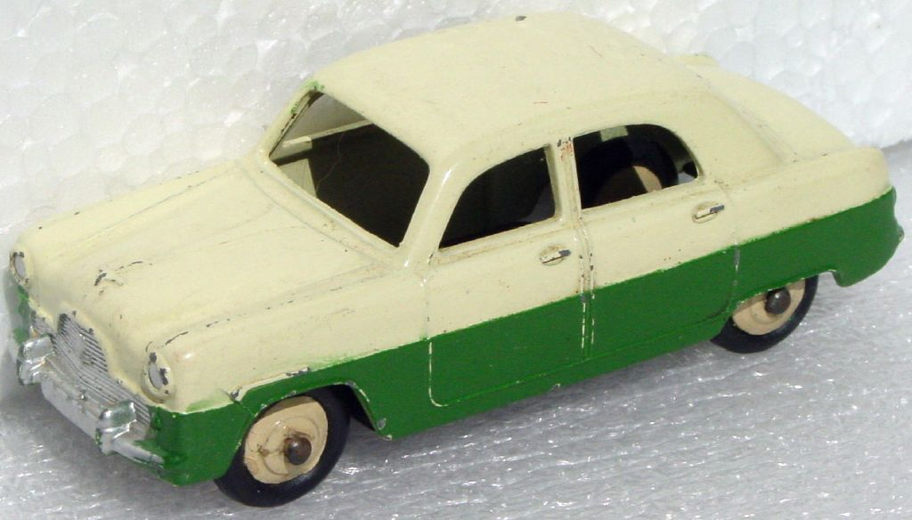 Dinky 162 - Ford Zepher Cream and Green tan hubs