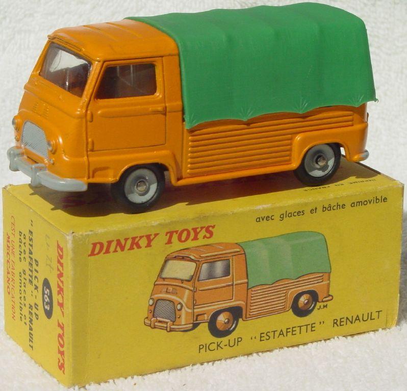 Dinky 563 - Renault Estafette Orange and Green (Very Near Mint) C9.5 box