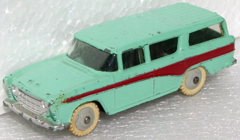 Dinky 173 - Nash Rambler Turquoise and maroon
