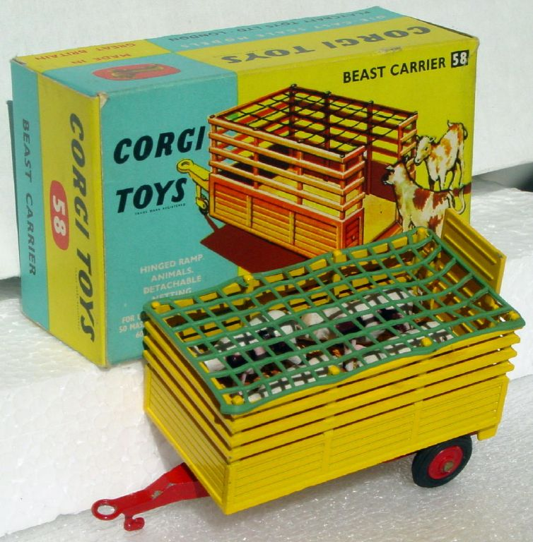 Corgi 58 - Beast Carrier three slight chips C9.5 box