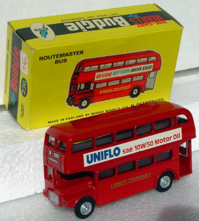 43 - BUDGIE 236 Routemaster Bus Red UNIFLO C9.5