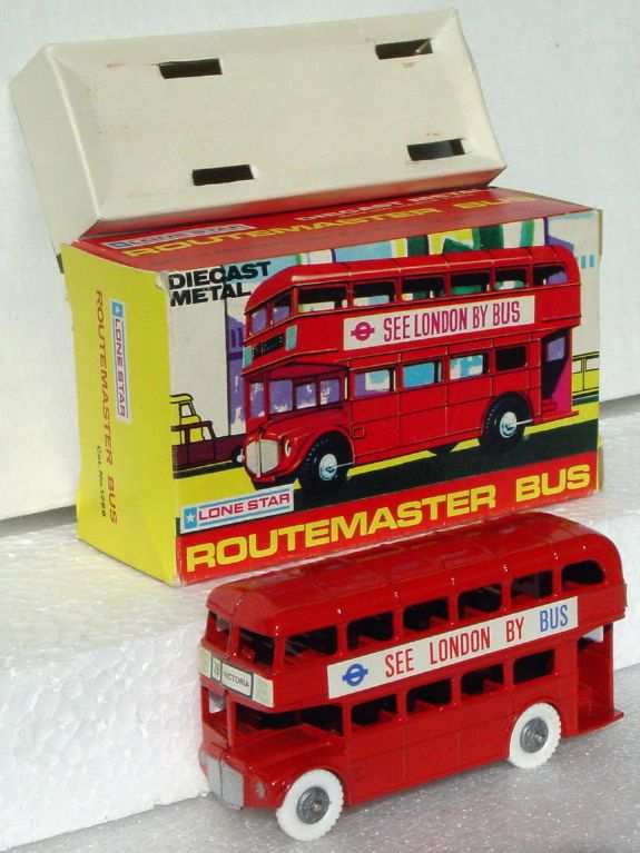 43 - LONE STAR Routemaster Red See London white walls Very Near Mint C9.5