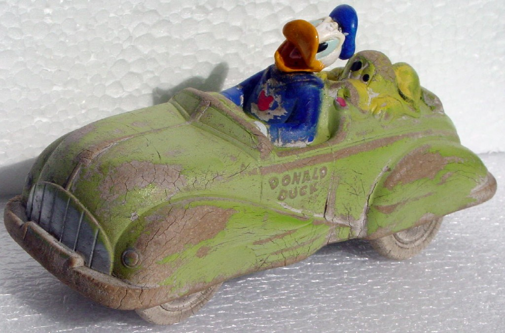 VICOROY SUN RUBBER Donald Ducks Car