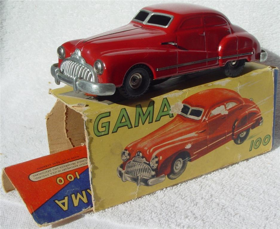 Schuco 100 - Gama-Patent Red USZ C7 box 1 loose flap
