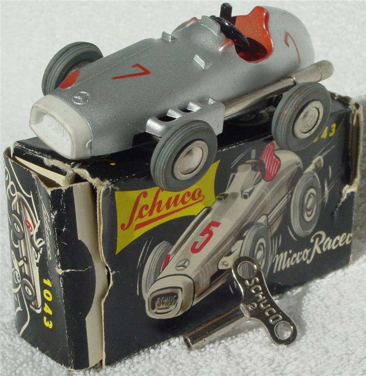 Schuco 1043 - Micro Racer met Grey 7 W. Germany C8