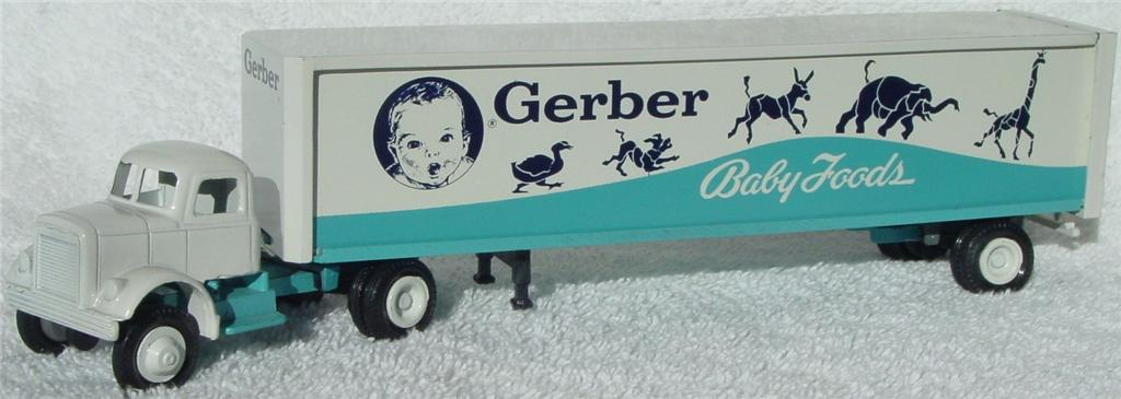 Winross - White 9000 Gerber Baby Foods White and light Blue 1978