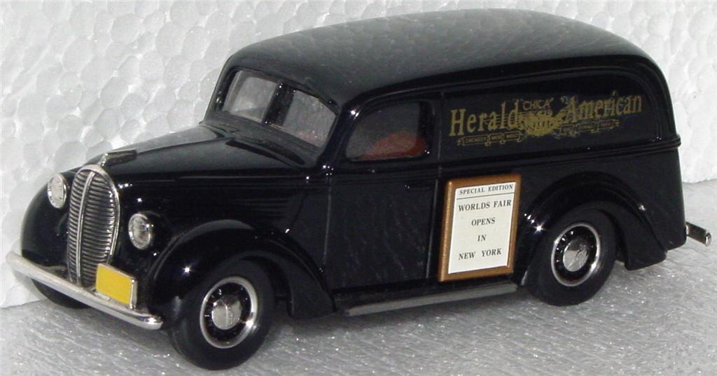 Durham Classics 39 - 39 Ford Del Black Chicago Herald American