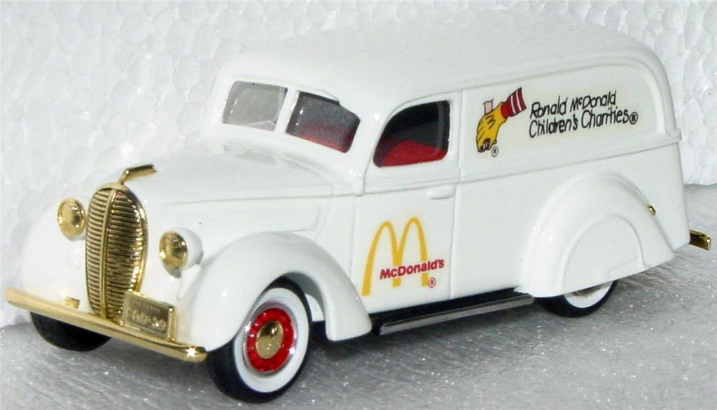 Durham Classics 39 - 39 Ford Del White Macs Benefit number 1
