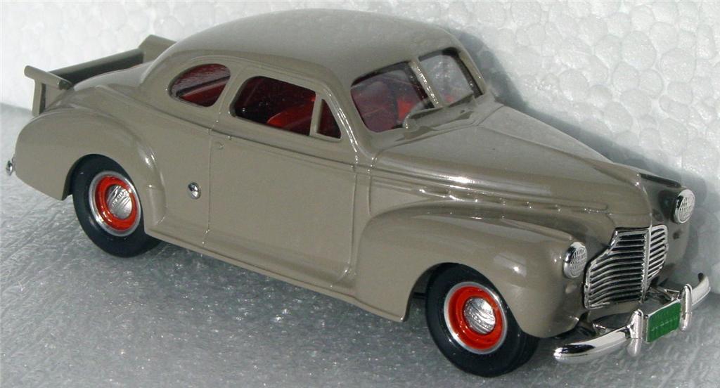 Durham Classics 41 - 41 Chevy Coupe Beige 1st Club 91