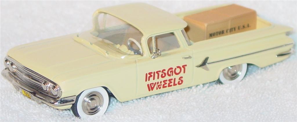 Motor City 7 - DS 1960 El Camino Casino Cream If Its Got Wheels