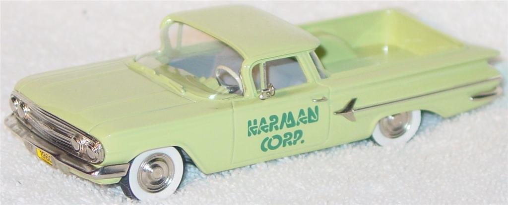 Motor City 7 - DS 1960 El Camino light Green Harman Corp