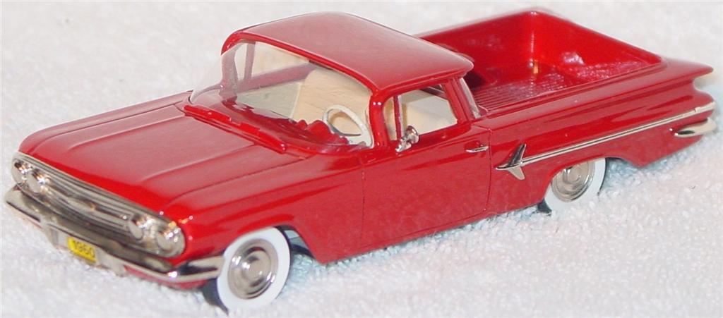 Motor City 7 - DS 1960 El Camino Red
