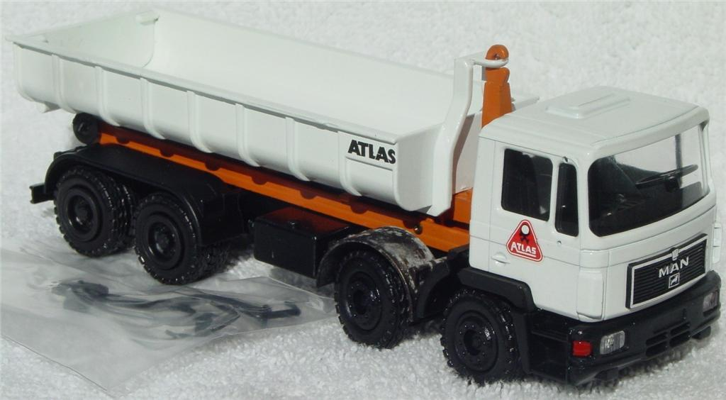 50 - CONRAD M.A.N. Tipper White and Orange C9 box