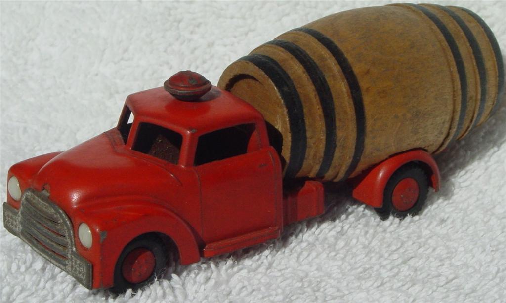 43 - VILMER 345 Barrel Van Orange letters on base