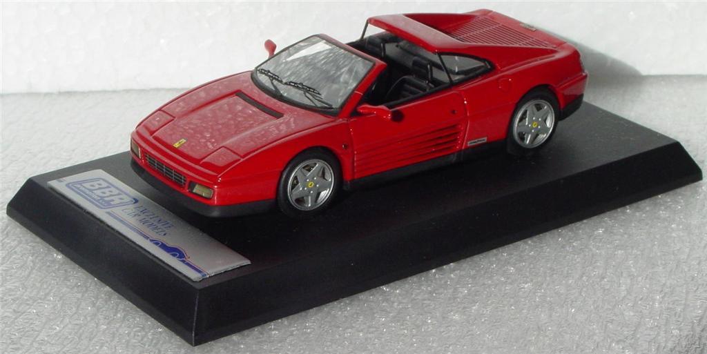 White Metal 43 - BBR 59A Ferrari 348 Cabriolet TS Red