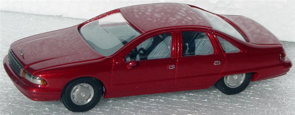 White Metal 43 - RAE 91 Chevy Caprice Maroon IIGW