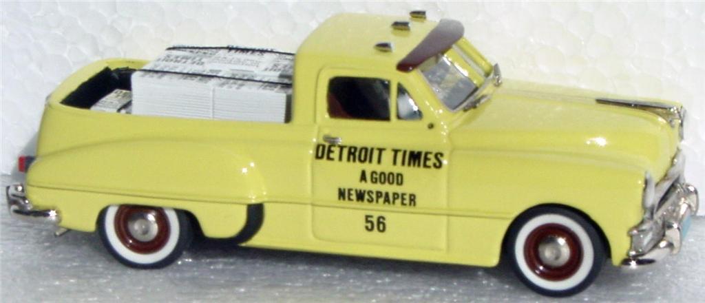 White Metal 43 - R&J 49 Pontiac Pickup Detroit Times