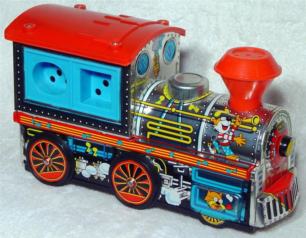 Battery Operated - KANTO Toys Animal Choo Choo Japan