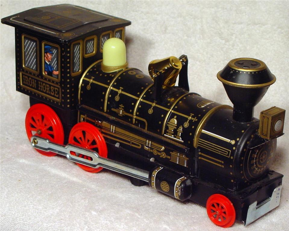 Battery Operated - WOOLWORTH-WOOLCO Iron Horse Japan