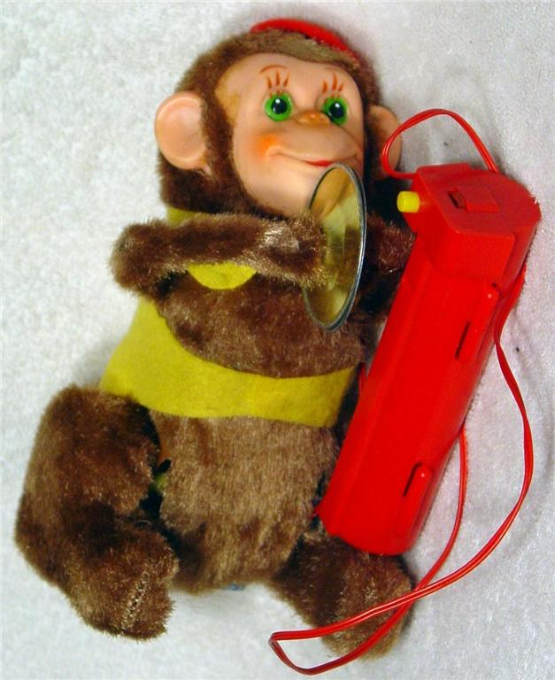 Battery Operated - TN Turn Over Monkey Japan