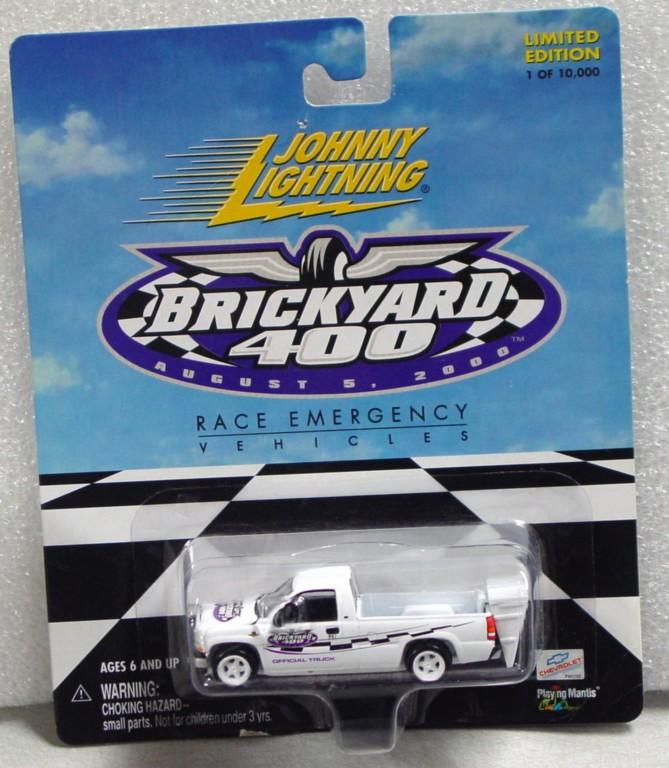 White Lightning - White Lightning Brickyard 400 2000 Chevy Silverado White