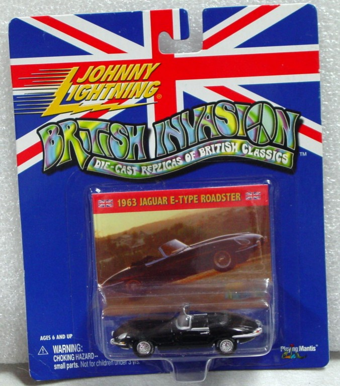 White Lightning - White Lightning British Invasion E-Type Black
