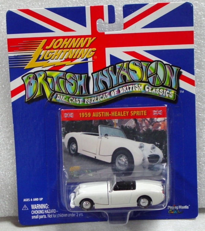 White Lightning - White Lightning British Invasion Austin Healy Green