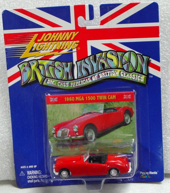 White Lightning - White Lightning British Invasion 1969 MGA Red