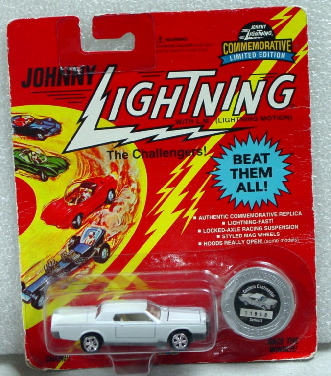 White Lightning - White Lightning Commem. Custom Continental White C9 card