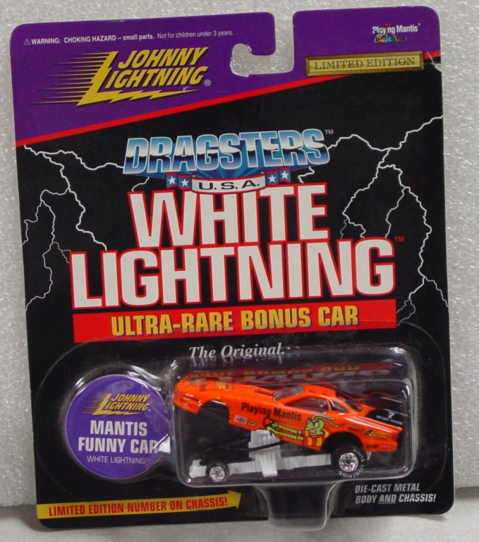 White Lightning - White Lightning Dragsters Playing Mantis Orange