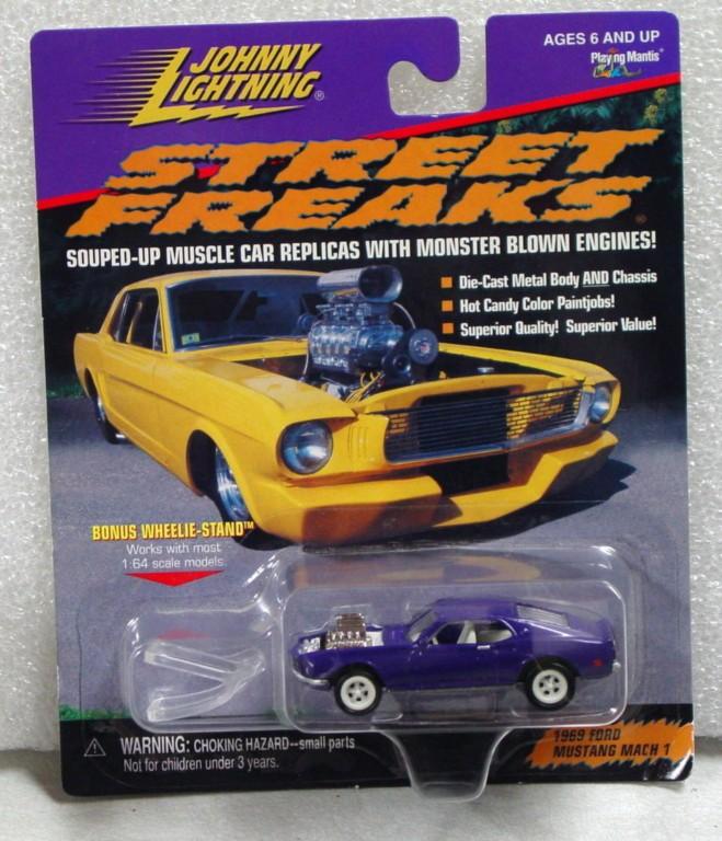 White Lightning - White Lightning Street Freaks 1969 Mustang Mach I