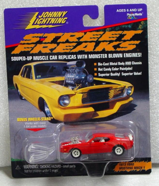 White Lightning - White Lightning Street Freaks 1973 Mustang Mach I