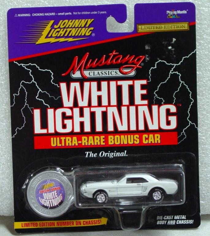 White Lightning - White Lightning Classic 1963 Mustang II P. White #397