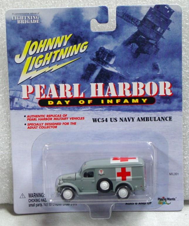 White Lightning - White Lightning Lightning Brigade WC54 Ambulance