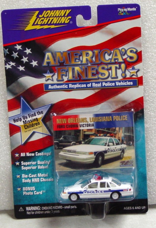 White Lightning - White Lightning Amer Finest New Orleans Police