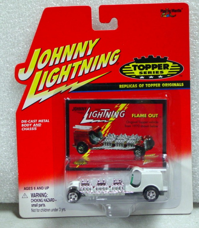 White Lightning - White Lightning Topper Flame Out White