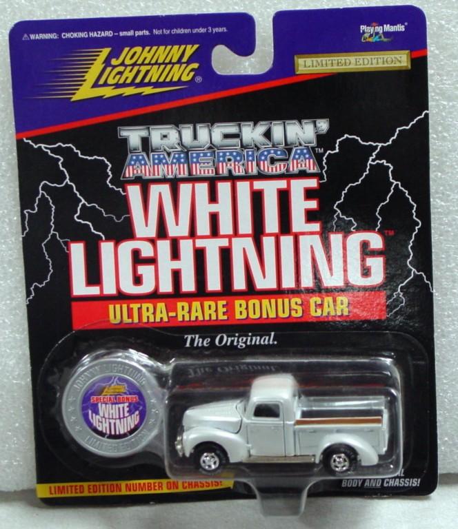 White Lightning - White Lightning Truckin Amer 1940 Ford Sil-white