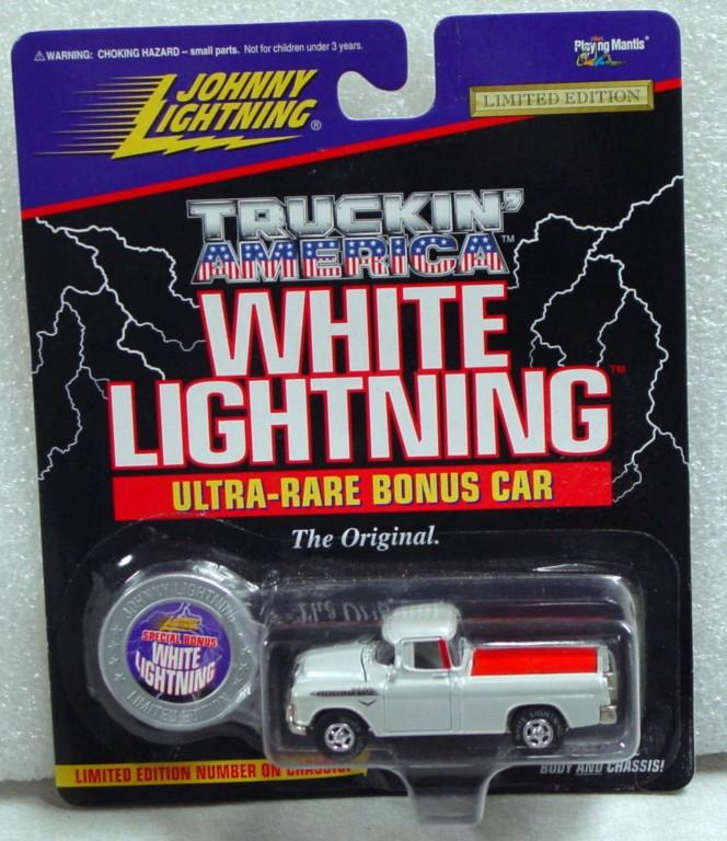White Lightning - White Lightning Truckin Amer 1955 Chevy Cameo Sil-white