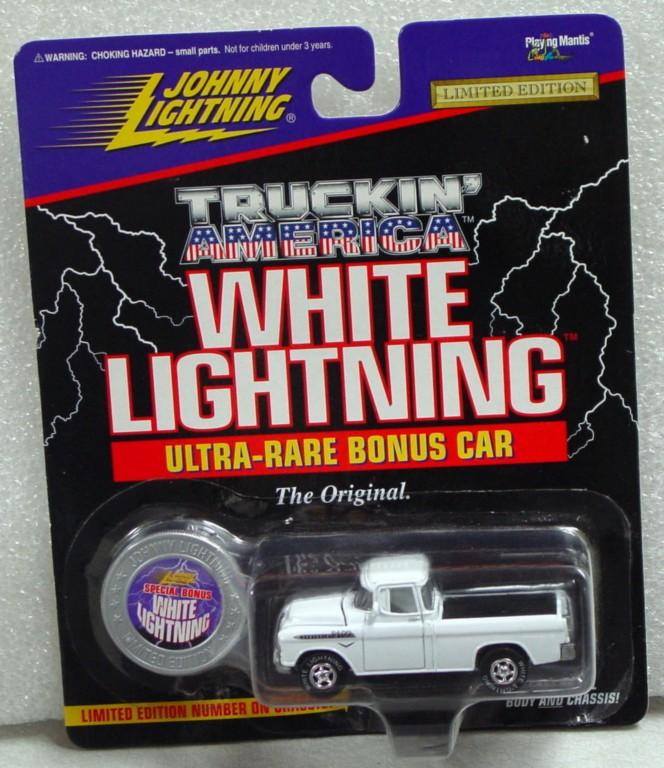 White Lightning - White Lightning Truckin Amer 1955 Chevy Cameo White
